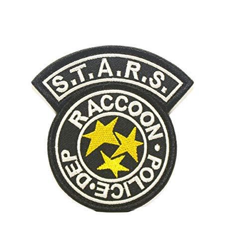 Cobra Tactical Solutions Resident Evil S.T.A.R.S Racoon Police DEP Patch mit Klettverschluss auf der Rückseite (Biohazard Tasche Kostüm)