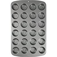 PME Carbon Steel Non-Stick 24 Cup Mini Muffin Pan