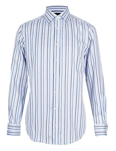 marks-and-spencer-chemise-business-homme-bleu-