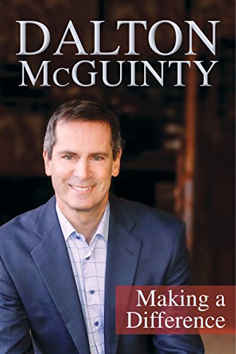 Dalton McGuinty: Making a Difference (English Edition)