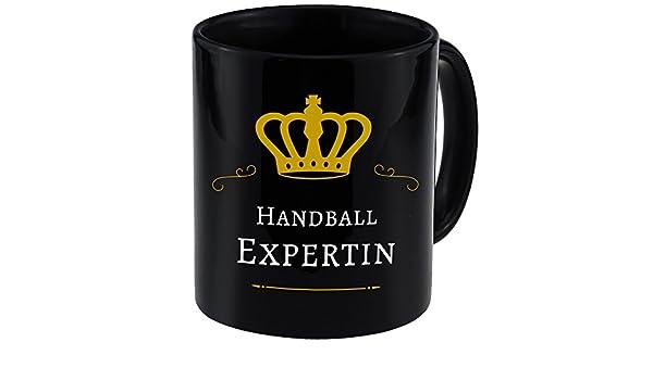 Multifanshop Mug Tasse De Experte NoirSports Handball Tc5Ku3lFJ1