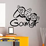 Customwallsdesign - Sticker mural en vinyle motif manette de console