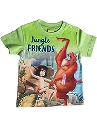 DISNEY Jungen Das Dschungelbuch Shirt, grün
