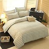 DFyuT Heimtextilien Bettwäsche Pflanze Kaschmir Baumwolle Vier-Bett-Schlafsaal Vier-Stück Bettbezug Bettwäsche,A1600,2M