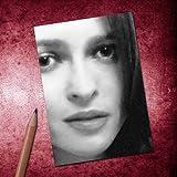 Seasons HELENA BONHAM CARTER - ACEO Sketch Card (Signed by the Artist) #js004