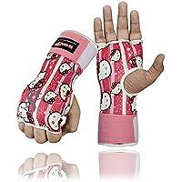 Be Smart Box-Handschuhe, Gel gepolstert, Innenhand-Wickel, MMA, UFC