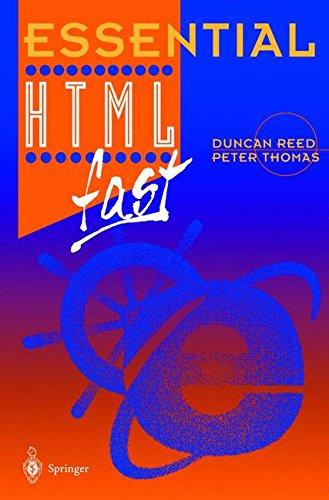 Essential H.T.M.L. fast par Duncan Reed