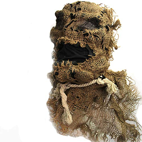 (Bsjz Horror Latex Maske Scary Halloween Zombie Mumie Modell Unisex)