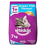 Whiskas Adult Cat Food Pocket Ocean Fish, 7 kg
