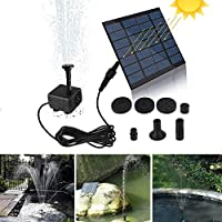 Mini Solar Fountain Pump Solar Water Pump Power Panel Kit Solar Panel Water Pump for Garden Pool