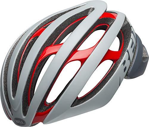 Bell Unisex- Erwachsene Z20 MIPS Fahrradhelm, Remix mat/gls Grey/Crimson, L