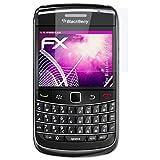 atFoliX Blackberry 9700 Bold Verre Film Protecteur - FX-Hybrid-Glass 9H Protection Écran Film de Verre en Plastique - Mieux Que Le Verre Pare-Balles d'origine