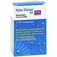 Hylo-Vision HD plus Augentropfen, 2x15 ml preisvergleich bei billige-tabletten.eu