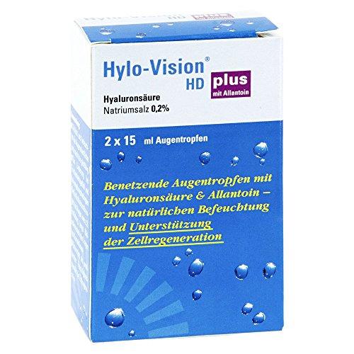 Hylo-vision Hd Plus Augentropfen 2X15 ml