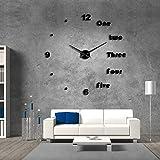 c0e0d26296c8 cchpfcc DIY Gran Reloj de Pared Moderno Arte de la Pared Decoración para el  Hogar de