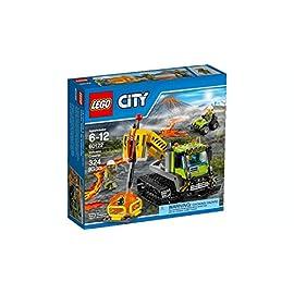 LEGO 60122 City Vulkan Raupe mit Ketten