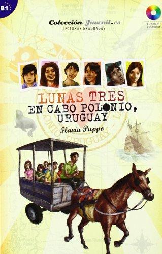 Lunas tres. En Cabo Polonio. Urugay: Colección Juvenil.es (Saber.es) por Flavia Puppo