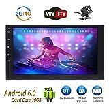 Foiioe 2DIN Indash auto Digital Audio Video stereo autoradio Android 6.017,8cm LCD Touchscreen GPS DAB + FM RDS Bluetooth WiFi OBD-II autoradio specchio Link (no DVD)