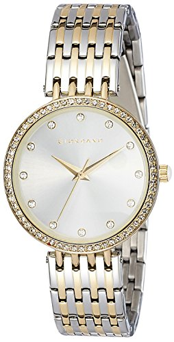 Giordano Analog Silver Dial Women's Watch - A2045-55