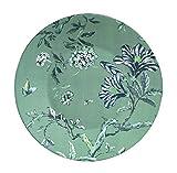 "9\ , Green : Jasper Conran by Wedgwood Chinoiserie Green Salad Plate 9"""