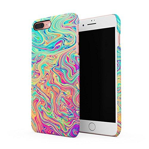 Soap Film (Soap Film Tie Dye Colorful Iridescent Pale Rad Indie Boho Tumblr Dünne Rückschale aus Hartplastik für iPhone 7 Plus & iPhone 8 Plus Handy Hülle Schutzhülle Slim Fit Case cover)