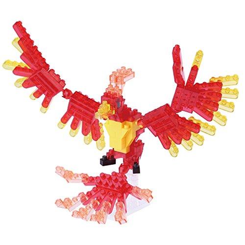 175 Serie (Unbekannt nanoblock NBC-175 - Phoenix, Minibaustein 3D-Puzzle, Mini Collection Serie, 140 Teile, Schwierigkeitsstufe 2, mittel)