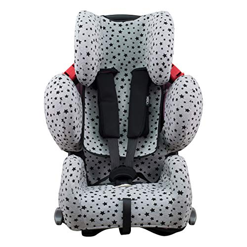 Janabebe Funda para Recaro Young Sport Hero (BLACK STAR)