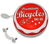 alles-meine.de GmbH große XL - Metall Fahrradklingel -  Vintage / Retro Look - Premium Bicycles  - Ding Dong - Fahrradglocke / Klingel für Das Fahrrad - XXL Erwachsene - Kinder..