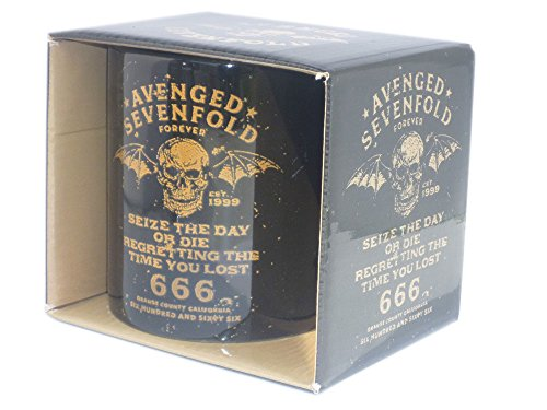 Avenged Sevenfold - Tazza in ceramica - Logo - Toll imballato in una scatola regalo