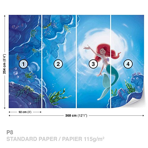 disney-little-mermaid-ariel-fototapete-fototapeten-wandbild