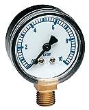 Thermador MA04 60573 Manometer 0-4 bar Axial 1/4, Ø 50