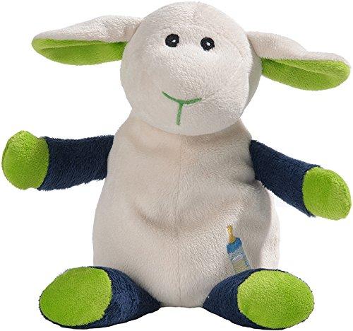 Warmies 9736553 - Bouillotte Mouton vert/bleu