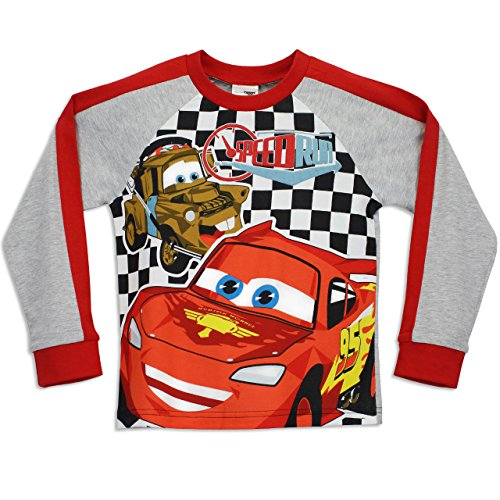 Image of Disney Cars Boys Lightning McQueen Pyjamas Speed Run Age 3 to 4 Years