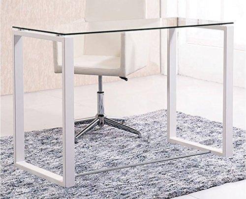 Mesas de ordenador escritorios mesa estudio comprar - Mesas estudio cristal ...