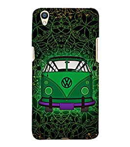 Indian Auto Van Fashion 3D Hard Polycarbonate Designer Back Case Cover for Oppo F1 Plus