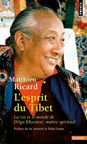 Esprit Du Tibet. La Vie Et Le Monde de Dilgo Khyents', Ma+tre Spirituel(l') (Points sagesses) por Matthieu Ricard