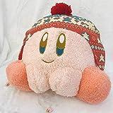 Kirby Doll Peluche 35 Cm,   Star Kirby Gioco Di Ruolo Cappello Invernale Serie Personaggio Cuscino Morbido, Peluche Doll Toy