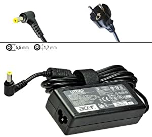 Alimentatore caricabatterie Originale AC Adapter per ACER ASPIRE TIMELINE 4800 5800 Series4810TZG, 4810TZ, 4810TG, 4810T, 4800TZG, 4820G, 4820TZ, 4820TZG, 5820G, 5820TZ, 5810T, 5820T, 5820TG, 5820TZG, 5810TG
