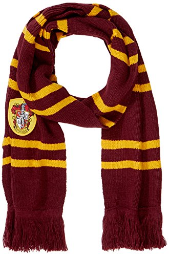 Cinereplicas Harry Potter - Bufanda, ultra soft de 190 cm, con bolsa con cremallera Gryffindor Purple