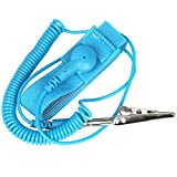 TRIXES Anti-static Wristband Wrist Strap Band ESD Discharge - Prevents Build Up of Static Electricity