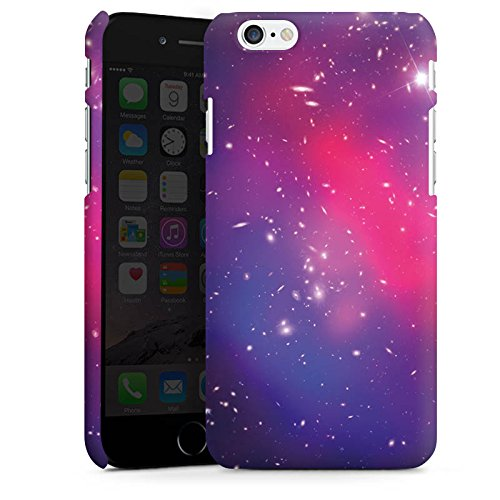 Apple iPhone X Silikon Hülle Case Schutzhülle Universum Galaxy Space Premium Case matt