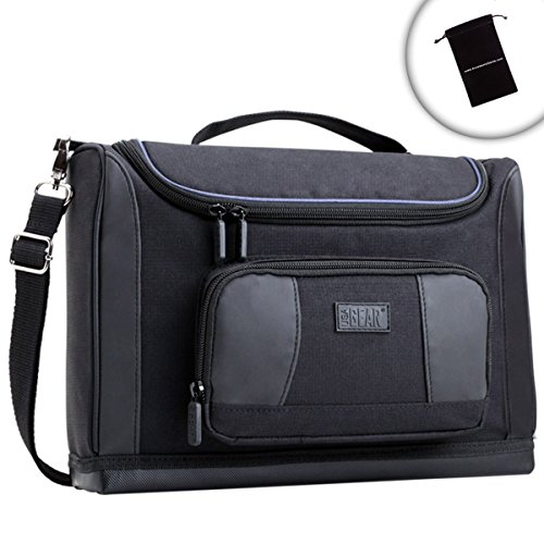 usa-gear-messenger-bag-shoulder-sling-case-w-cleaning-cloth-organiser-pocket-water-resistant-base-fo