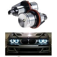 Bombillas alta potencia LED para faros delanteros, anillo de angel, 2 unidades, 7000 K Blanco