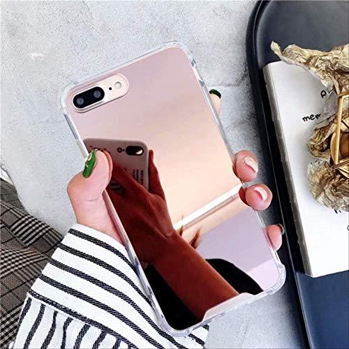 Rentlooncn Gasbag Drop Proof Mirror Case iPhone XR