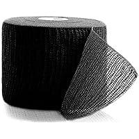 Horn - Haft krepp color kohäsive Fixierbinde verschiedene Größen und Farben (8cm x 20m, schwarz) preisvergleich bei billige-tabletten.eu