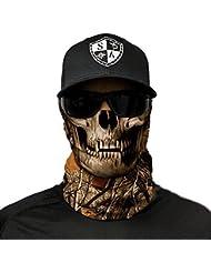 SA Fishing Face Shields ** 40+ Designs verfügbar ** Qualitäts Bandana / Multifunktionstuch / Schlauchtuch / Halstuch aus Stoff & SPF 40 - Face Masks von SA Company