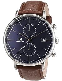 Danish Design Herren-Armbanduhr Analog Quarz Leder 3314506