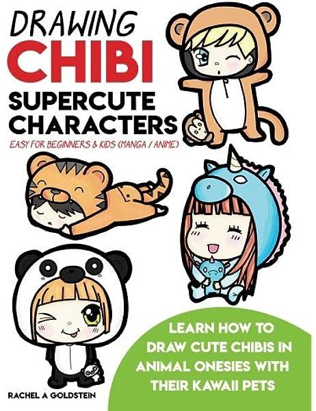 Drawing Chibi Supercute Characters Easy for Beginners & Kids