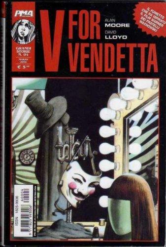 Grandi Storie V for Vendetta Alan Moore David Lloyd