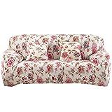 Mikolot Bedruckt Tuch Kunst Spandex Stretch Schonbezug Sofa Bezug (1#) (2Sitze)